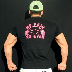T-shirt  Black No pain No Gain
