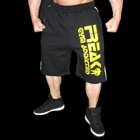 Shorts Black Yellow