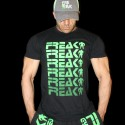 T-shirt Black Freak Freak Freak