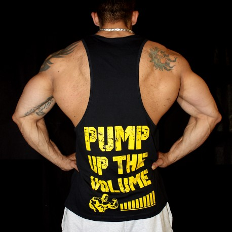 TankTop Black Pump up the volume