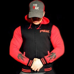 Felpa Black Red