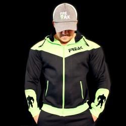 Felpa Black Green Fluo