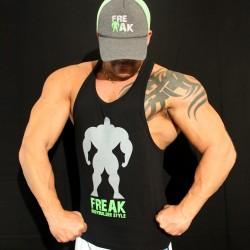 TankTop Black installing Muscles