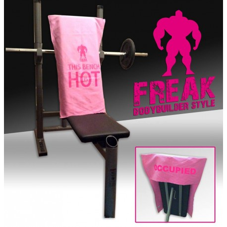 Telo sport in microfibra - Rosa Glicine - This Bench is Hot