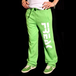 Lady Pantaloni  felpati Lime Green