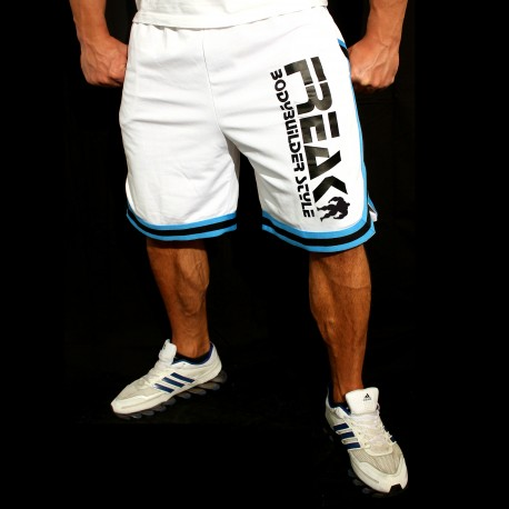 Shorts White Turquoise