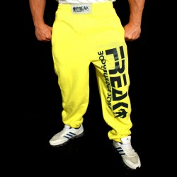 Pantaloni  felpati  Yellow Black