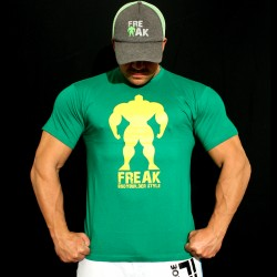 T-shirt Green  eat, sleep, train, freak