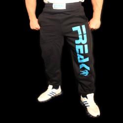Pantaloni  felpati Black Turquoise