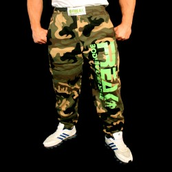 Pantaloni  felpati   Camouflage