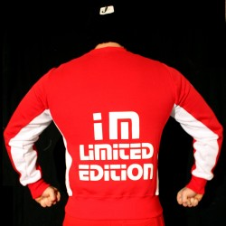 Felpa Red White I'm Limited Edition