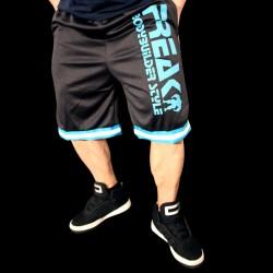 Shorts N Black White Turquoise