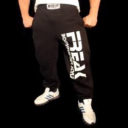 Pantaloni  felpati Black White