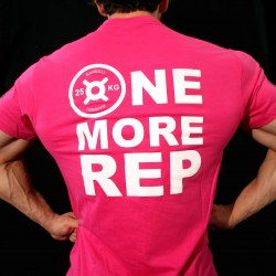 T-shirt Fucsia ONE MORE REP