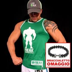 TankTop Green Hulk + Braccialetto Lava in OMAGGIO
