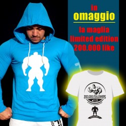 T-shirt Turquoise Slim Fit + OMAGGIO T-shirt Limited 200.000 like
