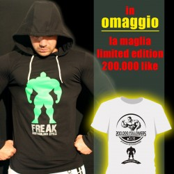 T-shirt Black Slim Fit + OMAGGIO T-shirt Limited Edition 200.000 like