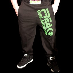 Pantaloni  felpati  Black Green Addicted