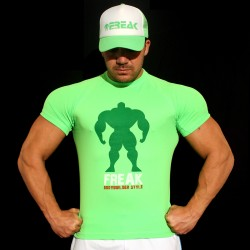 T-shirt Green BodyTeck -  100% Italian BodyBuilder