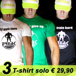 Three HashTagPack - 3 T-shirt al prezzo di 2